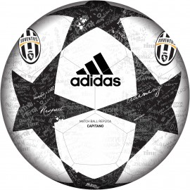 Adidas Mini Palla Finale 16 Juventus Bianco/Nero