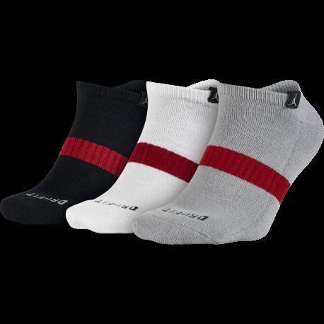 Nike Calza Jordan Dri-Fit 3ppk Nero/Bianco/Girgio