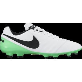 Nike Tiempo Genio II Lea Fg Bianco/Verde