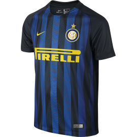Nike T-Shirt Mm Inter H Stadium Nero/Royal Junior