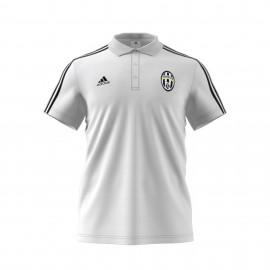 Adidas Polo Mm Juve 3 Stripes Bianco/Nero