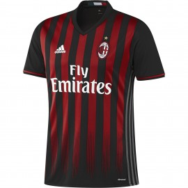 Adidas T-Shirt Home Replica AC Milan Black/Victory Red/Granite
