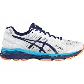 Asics Gel-Kayano 23  White/Indigo Blue