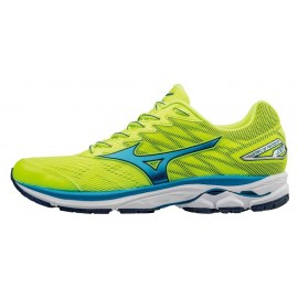 Mizuno Wave Rider 20  Safety Yellow/Atomic Blue