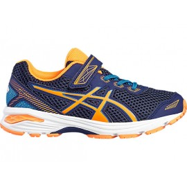 Asics Gt-1000 5 Ps  Indigo Blue/Hot Orange Kids