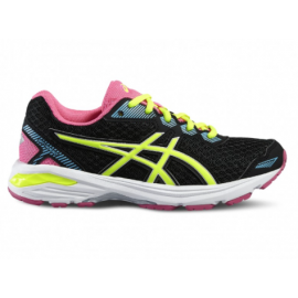 Asics Gt-1000 5 Gs Black/Neon Yellow
