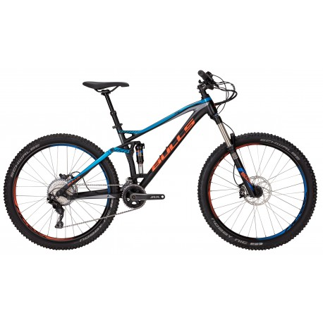 Bulls Mtb Wild Cup 3 27,5 Fs Black Matt/Blue/Grey
