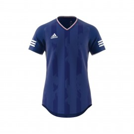Adidas T-Shirt Mm Tanc Jacquard Royal/Bianco