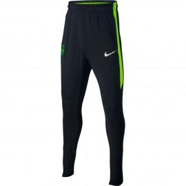 Nike Pantalon Ejr Dry Sqd Gx Nero/Verde