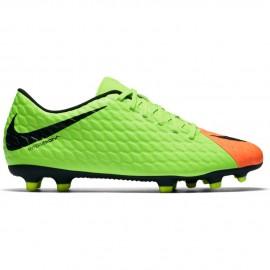 Nike Hypervenom Phade III Fg Verde/Nero