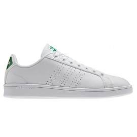Adidas Cloudfoam Advantage Clean  Bianco/Verde