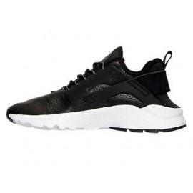 Nike Huarache Run Ultra  Nero/Bianco Lea Donna