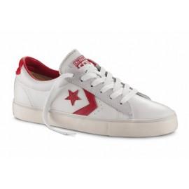 Converse Pro Lea Vulc Ox  Bianco/Rosso
