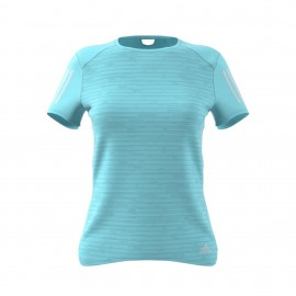 Adidas T-shirt Response Azzurro Donna