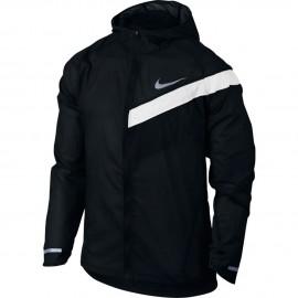 Nike Giacca Run Imp Lt Hd Black/White