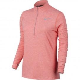 Nike T-shirt Ml Run Element Hz Bright Melon/Htr