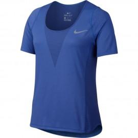 Nike T-shirt Mm Run Znl Relay Comet Blue Donna