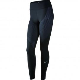 Nike Tight Run Znl Str Black/Paramount Blue Donna