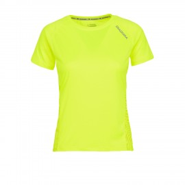 Diadora T-shirt MM Run L.X. Giallo Fluo