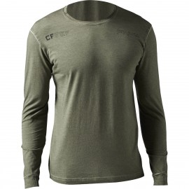 Reebok T-Shirt Ml Washed Crossfit Grigio