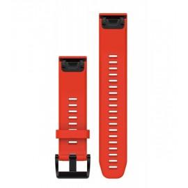 Garmin Cinturino Silicone Fenix 5 Rosso