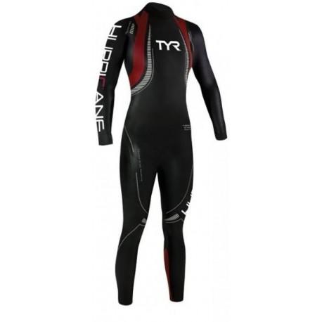 Tyr Muta Triathlon C5 Hurricane 39 Neoprene Black/Red