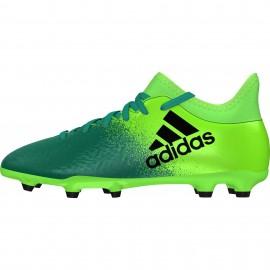 Adidas  X 16.3 Fg  Verde/Nero Junior