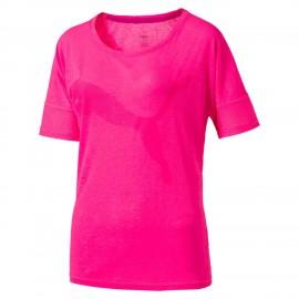 Puma T-Shirt Loose Donna Fuxia