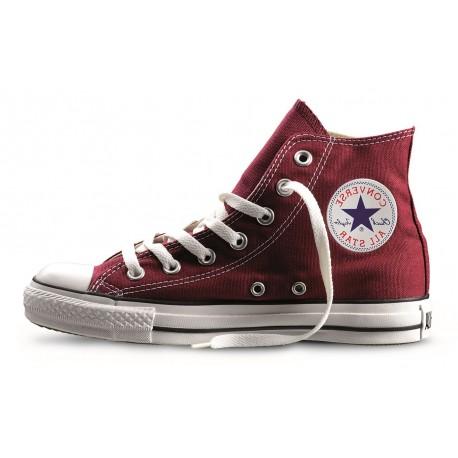 Converse All Star Hi Canvas Maroon