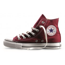 Converse All Star Hi Canvas Maroon