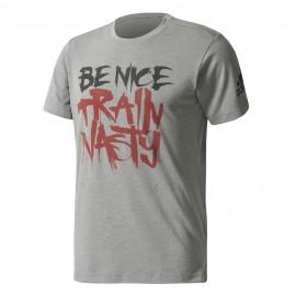 Adidas T-Shirt Mm Nasty  Grigio