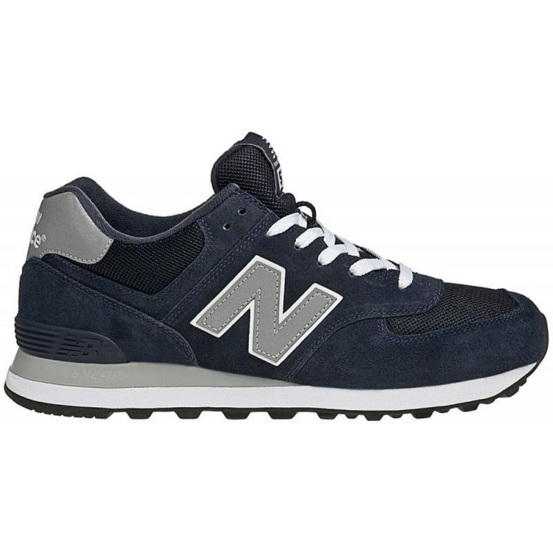 new balance 574 blu grigio
