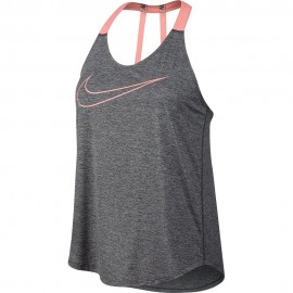 Nike Tank Brthe Train Dkgray/Pink Donna