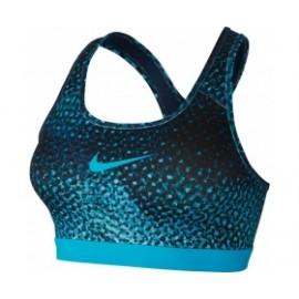 Nike Bra Classic Pro Kldscp Donna Ch Blue/Binary Blu