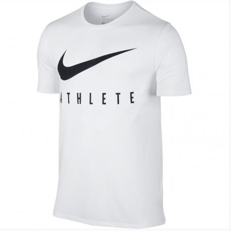 Nike T-shirt Mm Athlete White