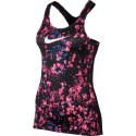 Nike Tank Print Microcosm Donna Racer Pink/Wht