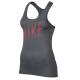 Nike Canotta Logo Grx Donna Dk Grey
