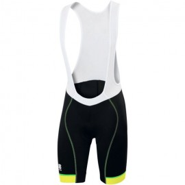 Sportful Salopette Giro Black/Yellow Fluo