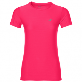 Asics T-shirt Mm Run Donna Diva Pink
