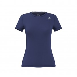 Adidas T-shirt Donna Mm Prime Train Blu