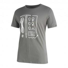 Mammut T-Shirt Sloper Titanium