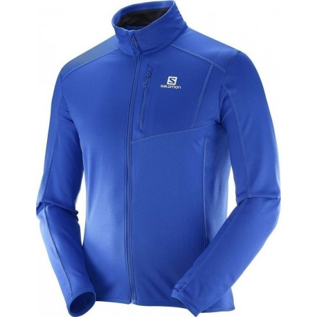 Salomon Fleece Discovery H/Zip Surf The Web