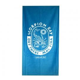 Scorpion Bay Telo Logo  Azzurro