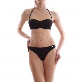 Ea7 Bikini Fascia Logo Nero