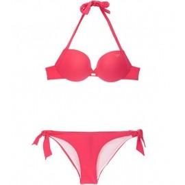 Ea7 Bikini Logo Fuxia
