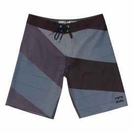 Billabong Boardshort Elasticizzato Bicolor Nero