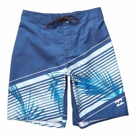Billabong Boardshort Palme Righe Denim