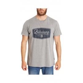 Billabong T-Shirt Logo Grigio