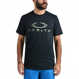 Oakley T-Shirt Logo Stealth Nero