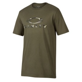 Oakley T-Shirt Logo Stealth Verde